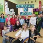 Szkolny Konkurs Ortograficzny dla uczniów klas II i III