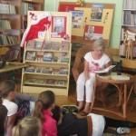 Narodowe Czytanie w bibliotece szkolnej
