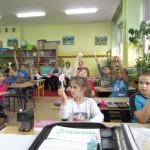 """""""Matematyczne potyczki"""" w klasie 2 c"""