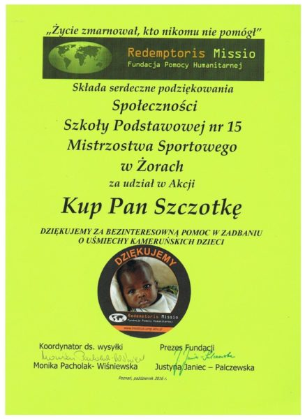 """Kup Pan Szczotkę"""
